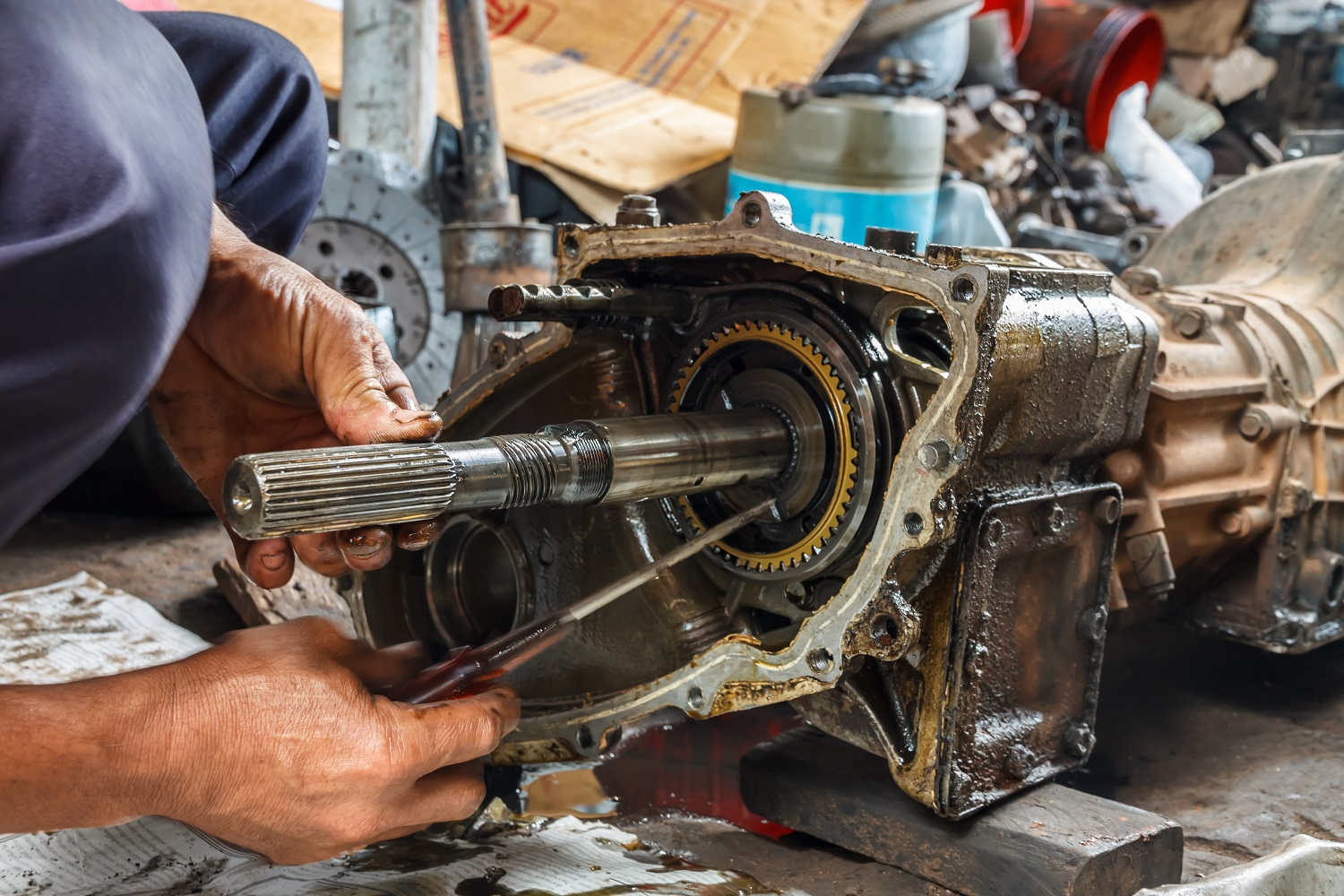 What Is The Process For Rebuilt Transmissions?